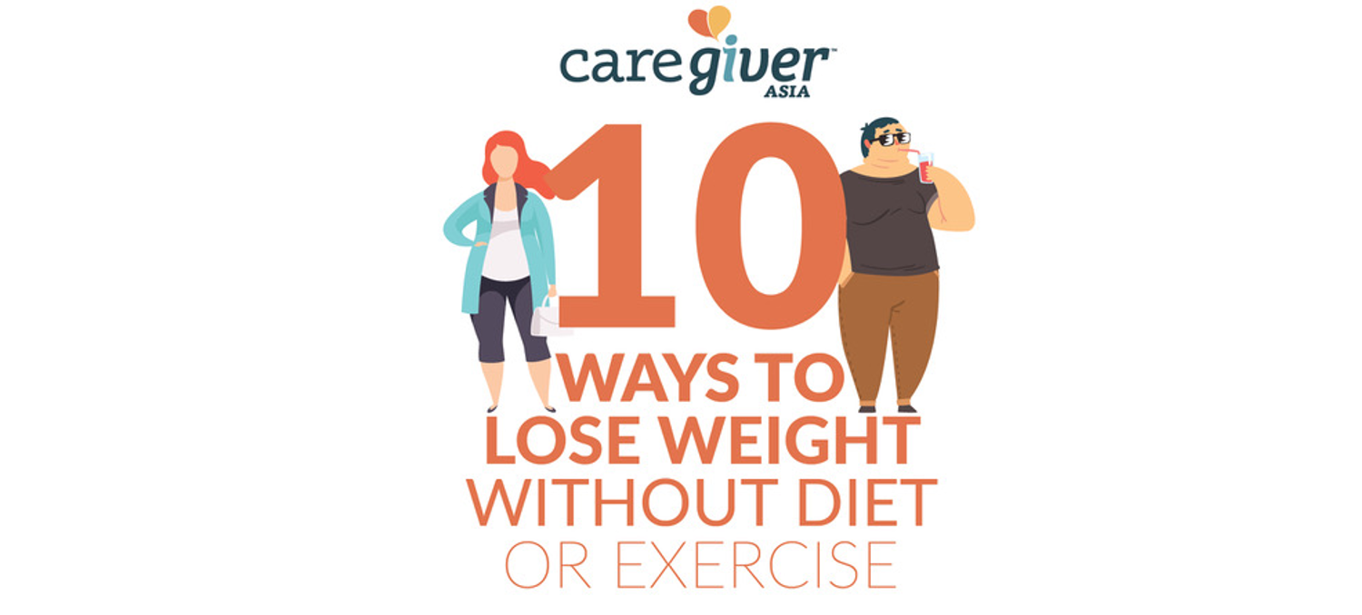 10 ways to lose weight without diet or exercise teaser