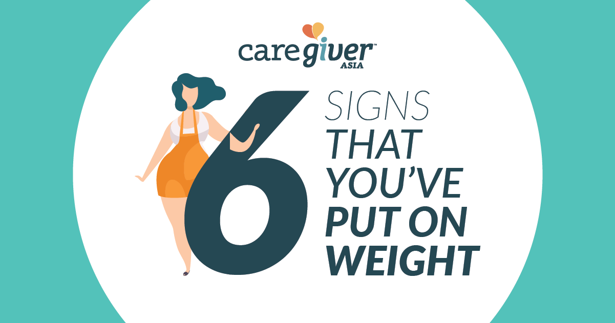 6 Signs that You've Put on Weight