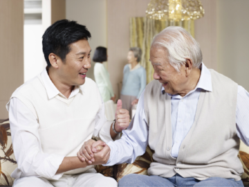 Caregiver companions from CaregiverAsia are the best people to look after your aging parents.