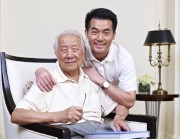 CaregiverAsia can provide you with a caregiver companion to watch over your elderly parents while you're away.