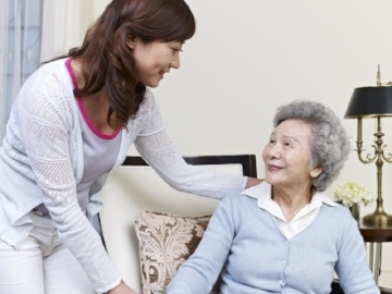 Caregiver Asia recommends hiring a caregiver companion if you're experiencing difficulties in taking care of an elderly relative