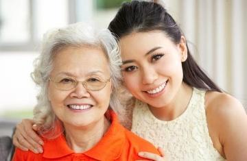 Daily elderly care service