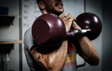 Working out while being angry or stressed out may have negative consequences.
