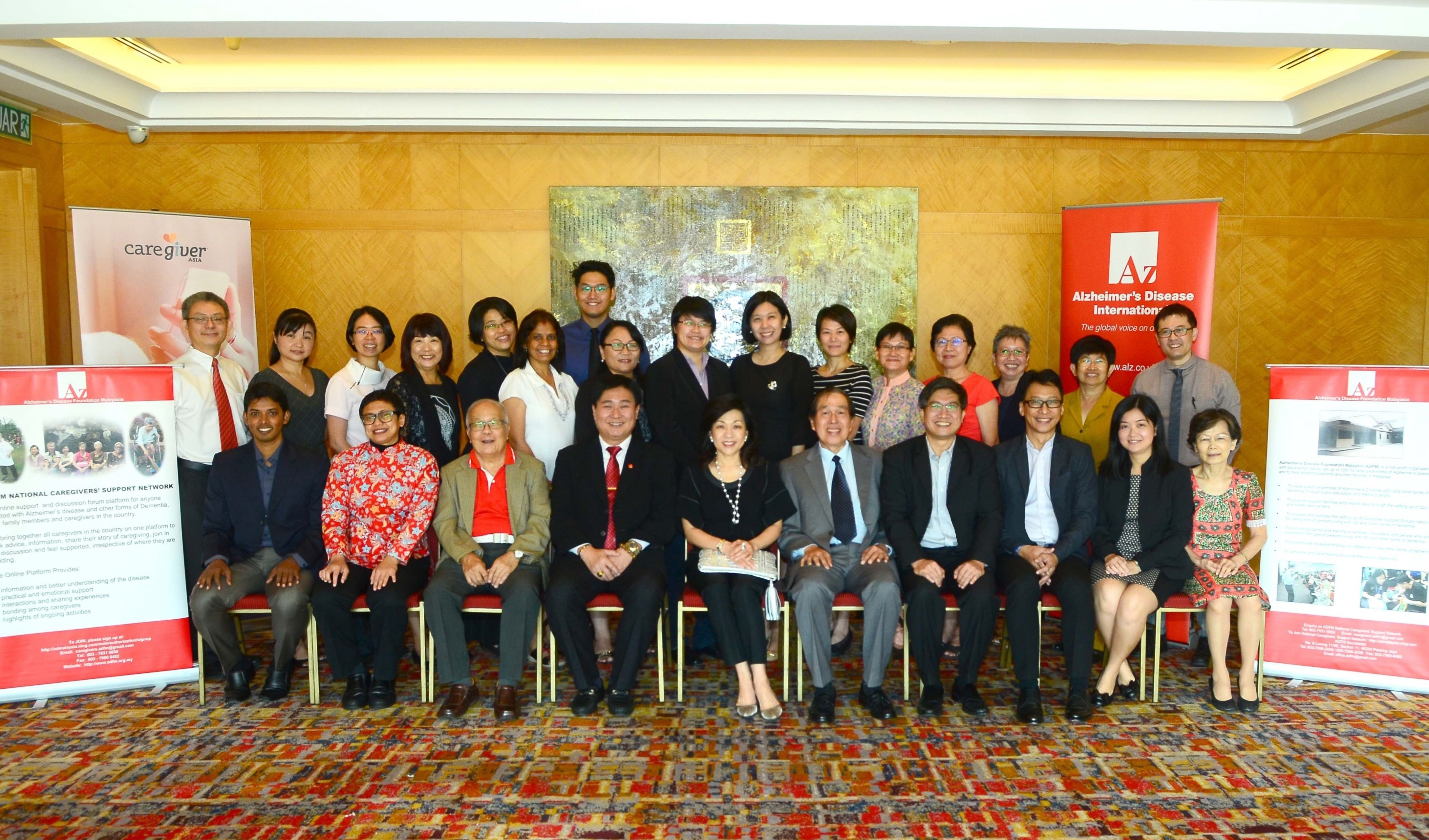 Alzheimer's organisations in Singapore and Malaysia to deliver quality dementia care in Malaysia
