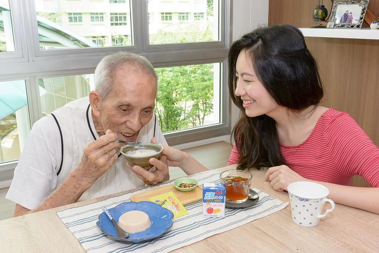Nutritious food products for the elderly and people with medical conditions