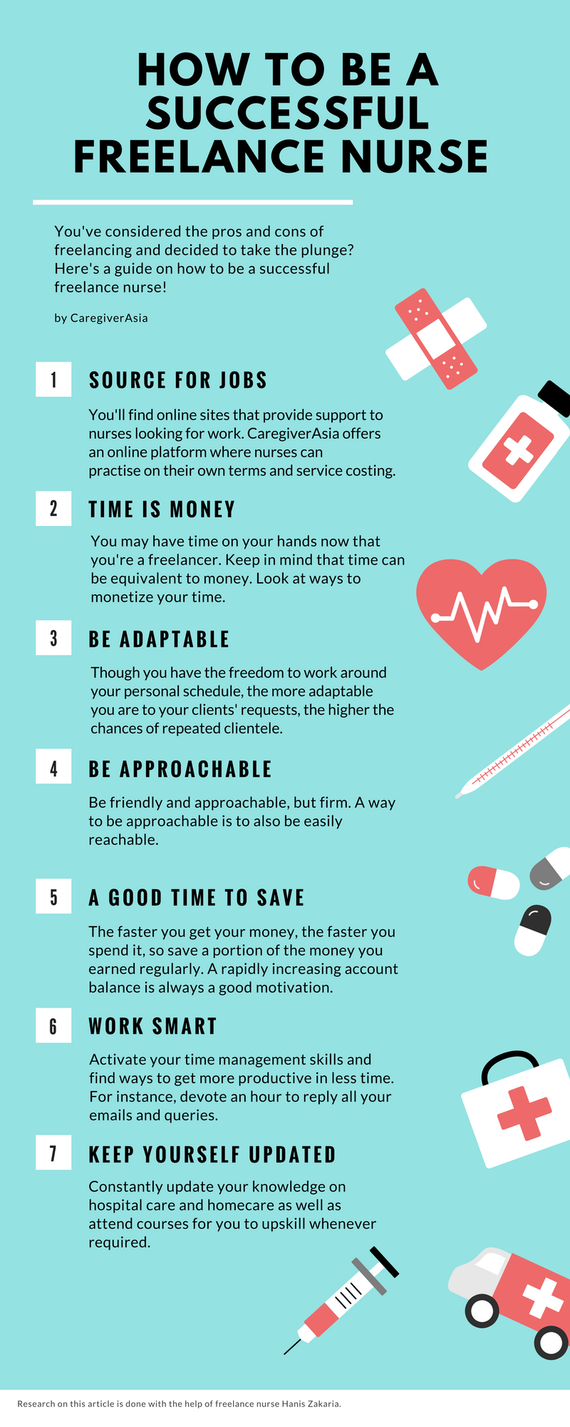 How to be a successful freelance nurse?