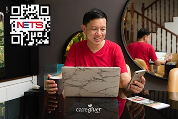 With eNETS QR and direct debit being introduced on our platform, CaregiverAsia will give that added convenience to our customers.