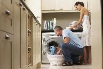 Without a maid, sharing the workload is the best way to get things done.