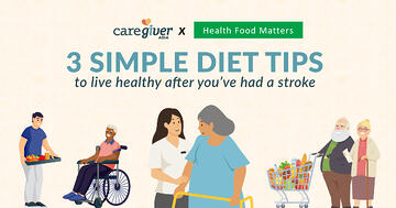 3 simple diet tips to live healthy after you've had a stroke