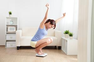 怀孕后体重减轻取决于健康的生活方式选择。
