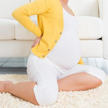 Painful contractions, backache, and leg heaviness are expected in labor, making relaxation techniques crucial.