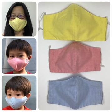 reusable cloth mask ans ein