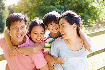 Young parents would enjoy the benefits of an accident protection plan.