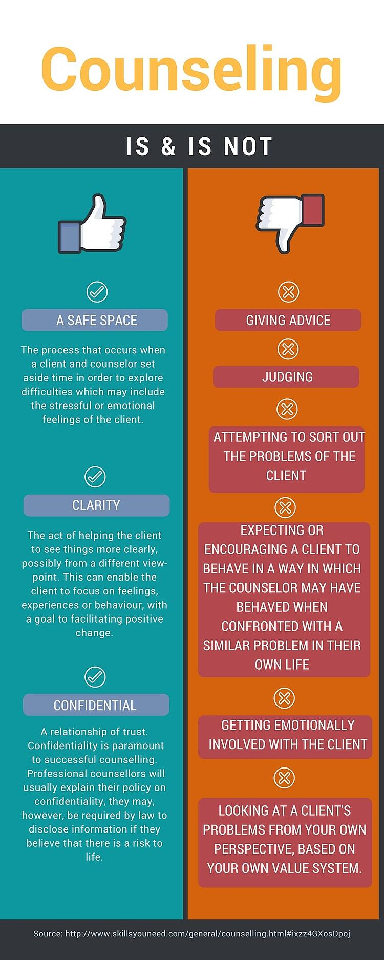 What are the benefits of counseling?