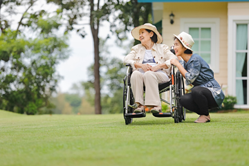 You can allow your elderly loved ones to live in comfort by booking home care services instead of checking them in to residential care facilities.