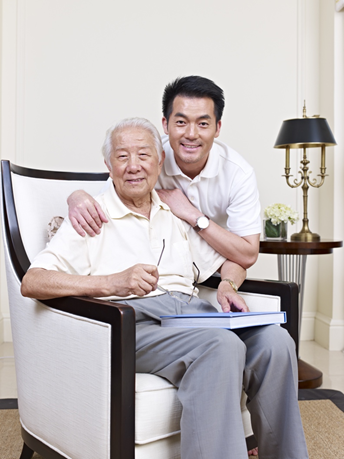 Weakened immune systems in the elderly reduces their ability to recover from injury and illnesses.