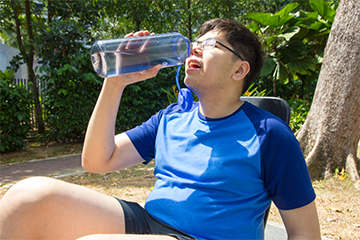 Staying hydrated is one of the ways to prevent muscle cramps.