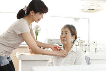 To avoid accidents, engage a Nurse Aide to help the elderly with bathing and dressing.