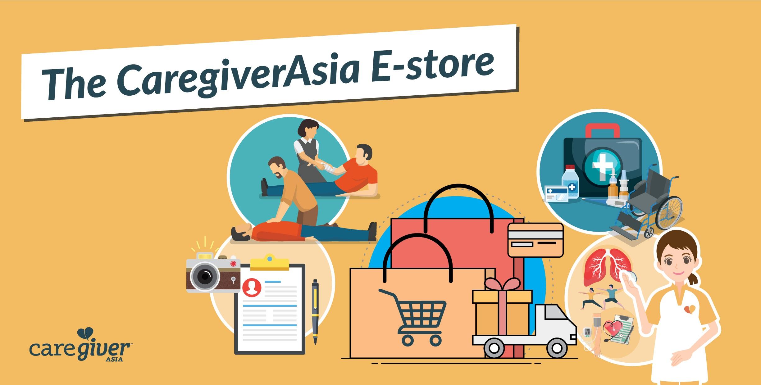 CaregiverAsia's E-store
